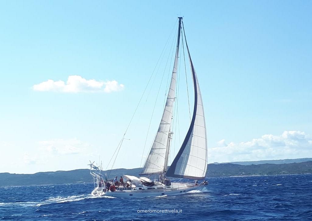 blog di vela Freya in navigazione