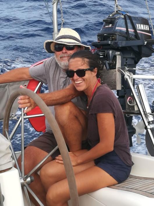 blog di vela omero e sara insieme in navigazione