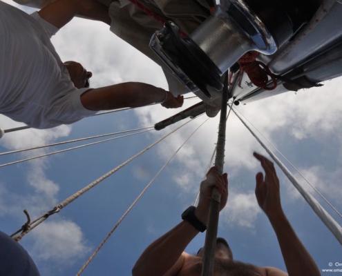 navigazione scuola vela d'altura manovre