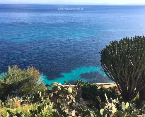 week end in barca a vela isole egadi levanzo acqua e agave