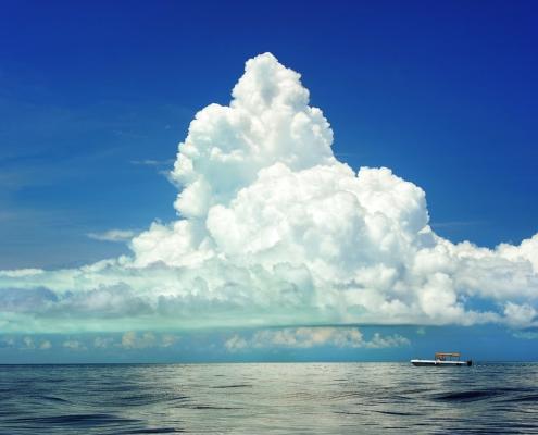 Prevedere il tempo osservando il cielo cumulonembo