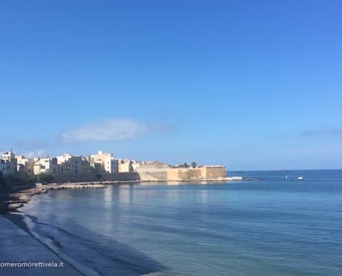 Sicilia in barca a vela Trapani centro