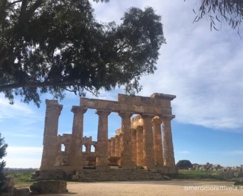 Sicilia in barca a vela selinunte tempio