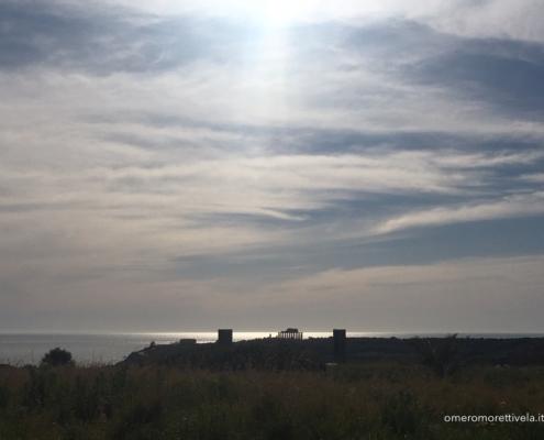 Sicilia in barca a vela selinunte vista