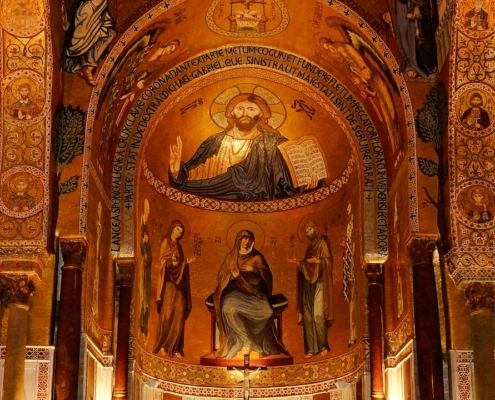 Sicilia in barca a vela palermo cappella palatina