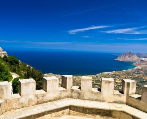 Sicilia in barca a vela erice