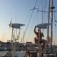 corrente elettrica in barca a vela generatori eolici