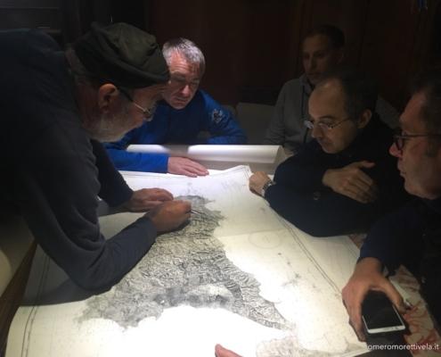 scuola vela in Mediterraneo briefing