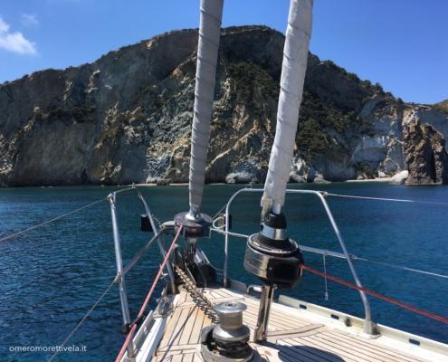 golfo di napoli in barca a vela ponza frontone
