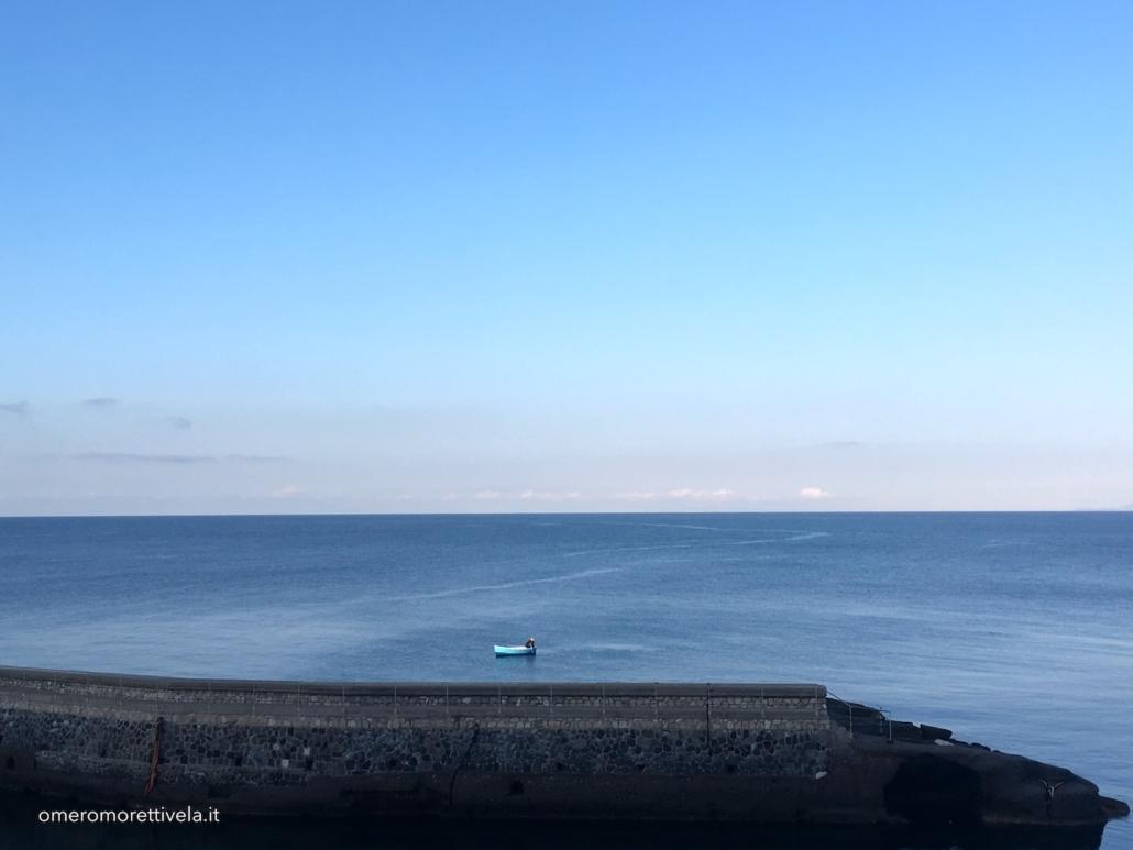 golfo di napoli in barca a vela ventotene vista