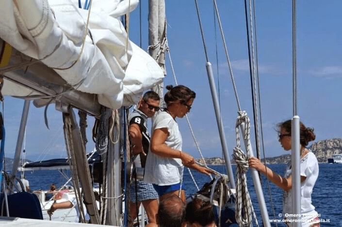 vacanza in barca a vela lezione di nodi